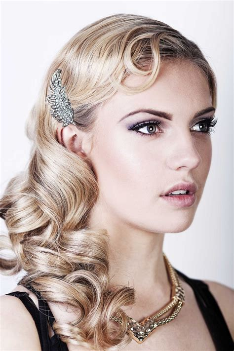 gatsby hairstyles long great gatsby long hairstyle celestial deco pinterest