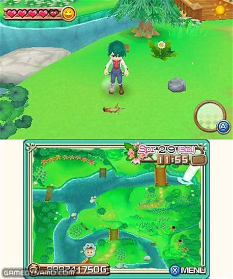 Kaset Harvest Moon 3d A New Beginning 3ds harvest moon a new beginning nintendo 3ds on