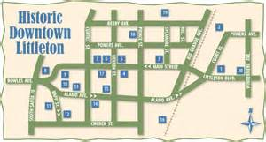 historic downtown littleton map