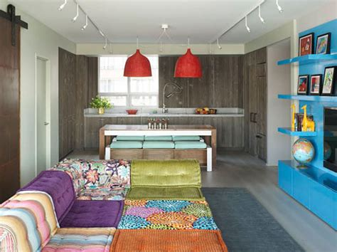 family decorating ideas kid and family friendly decorating colorful modern kid friendly apartment by incorporated