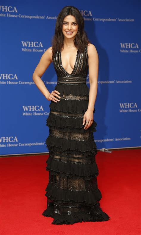 priyanka chopra white house correspondents dinner check out what priyanka chopra wore to white house