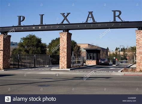 pixar headquarters the headquarters of computer animation studio pixar stock