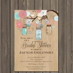 jar bridal shower invitations templates jar invitation jar bridal shower invitation