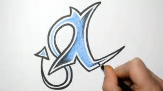 how to draw letters in graffiti writing i