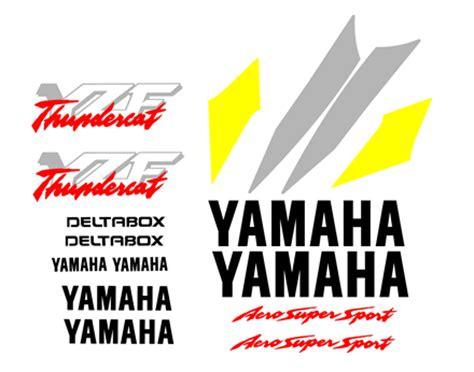 Yamaha Thundercat Aufkleber by High Quality Yamaha Decal Sets Thundercat
