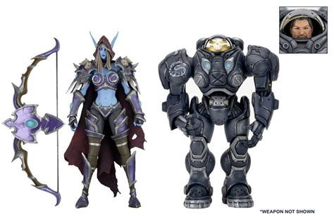 Figure Heroes Of The Starcraft heroes of the 7 quot scale figures series 3 necaonline