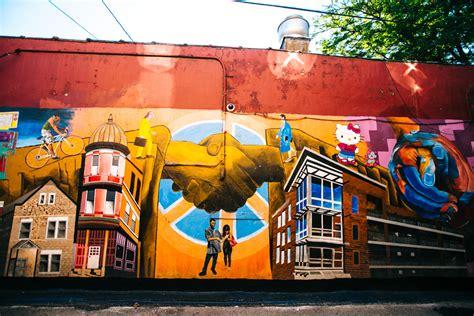 Rainbow Wall Murals street art in pilsen murals in chicago s mexican