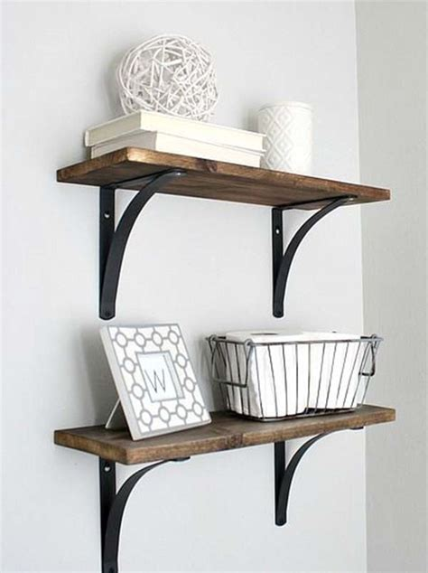 wall shelves bathroom helpful tips for bathroom shelves