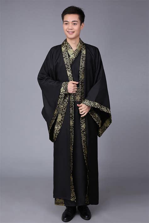 chinese ancient man robe chinese hanfu cosplay  male