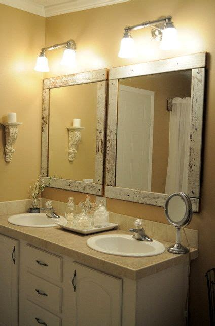 framing bathroom mirror ideas best 25 frame bathroom mirrors ideas on