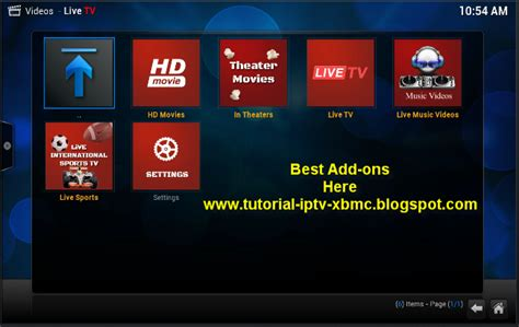 tutorial video xbmc live tv add on for kodi xbmc download and install
