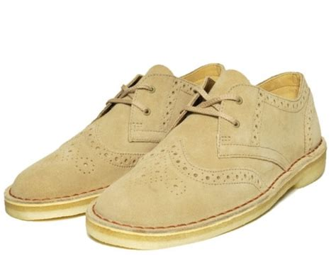 clarks banana boat shoes clarks originals desert khan brogue por homme
