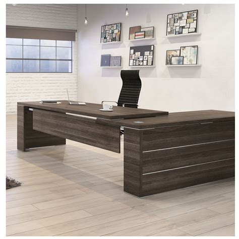 L Shape by Kara Executive L Shape Desk Allard Office Furniture