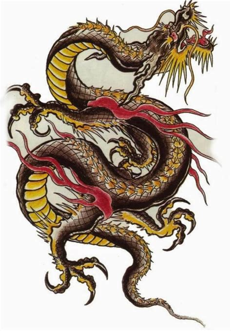 traditional chinese designs 53 most beautiful chinese dragon tattoos designs