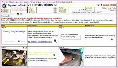 standard work excel template 10 standard work excel template
