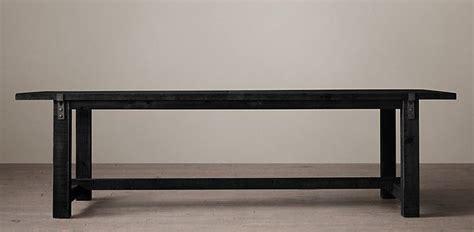 restoration hardware zinc table reclaimed wood zinc rectangular table