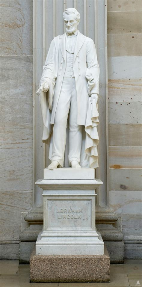 lincoln statues abraham lincoln statue architect of the capitol united