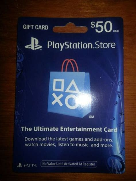 How To Use A Gift Card On Ps4 - free sony playstation 50 00 playstation network card sony playstation psn ps4