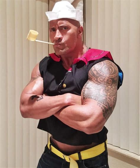 dwayne the rock johnson costume celebrity halloween costumes 2015 fashion style trends 2018