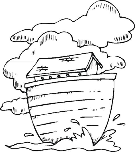 Free Coloring Pages Of Noah S Ark Rainbow Noah S Ark For Color Sheets