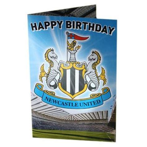 Newcastle United Birthday Cards