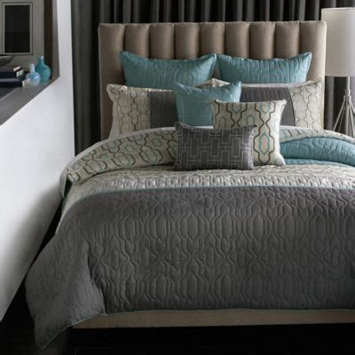 bed pillow ideas bryan keith bedford reversible 9 piece full comforter set