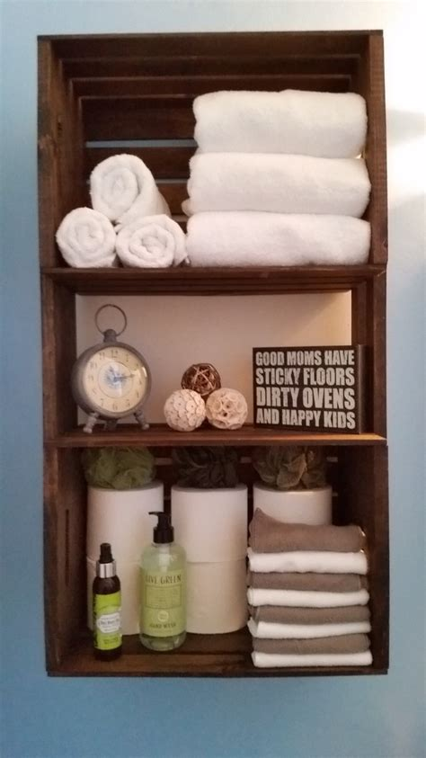 crate shelves bathroom how to build a crate shelving unit the home depot