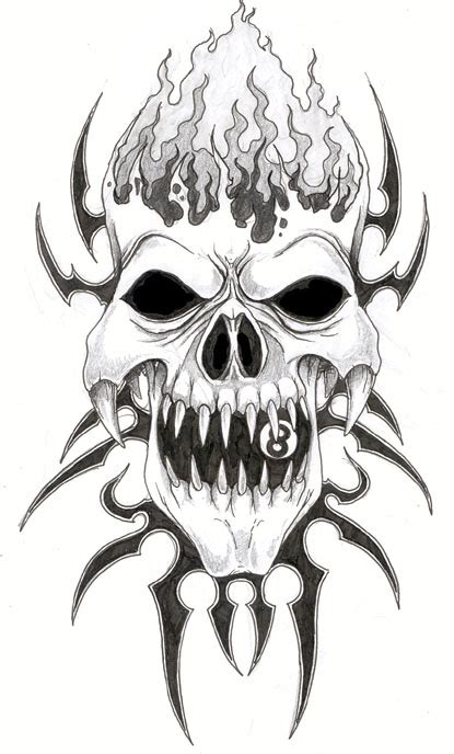 free skull tattoo designs afrenchieforyourthoughts skulls tattoos drawings