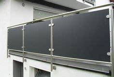 Terrasse Selber Bauen Holz 2337 by Balkongel 228 Nder Aus Edelstahl F 252 Llung Aus Glas Grau Mit