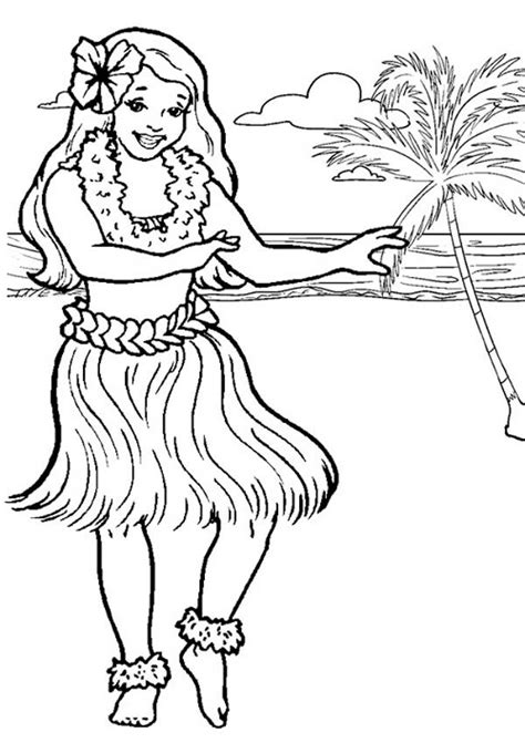 hawaiian pictures for kids to color free coloring pages hawaiian coloring page coloring home