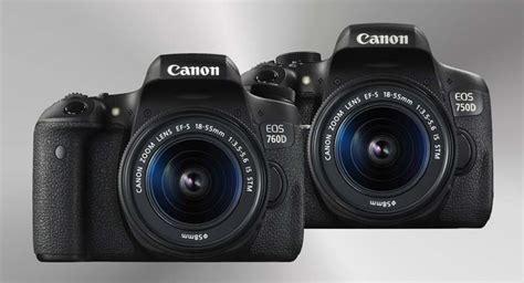Dan Spek Kamera Canon Eos 700d canon 750d dan 760d perbedaan spesifikasi harga dan