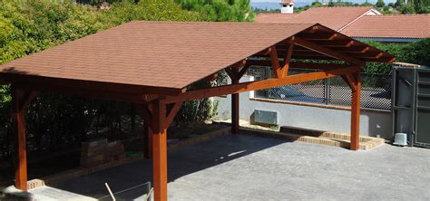 fotos de porches de madera garajes de madera de pergomadera p 233 rgolas y porches de