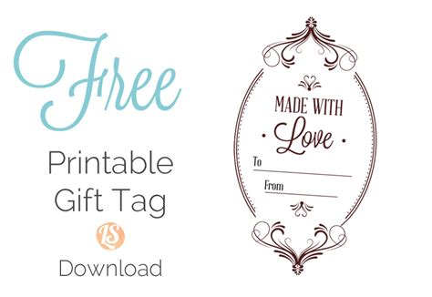 printable made for you gift tags 8 homemade granola gift ideas printable gift tags live
