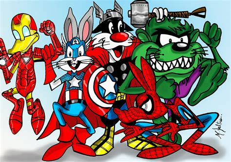 film animasi marvel kumpulan gambar looney tunes gambar lucu terbaru cartoon