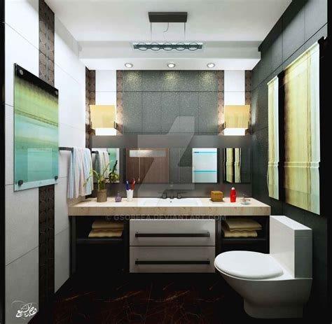 modern guest bathroom modern guest bathroom by gsobeea on deviantart