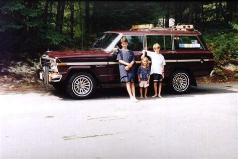Jeep Wagoneer Wood Trim 1988 Grand Wagoneer That Came From The Factory Without The