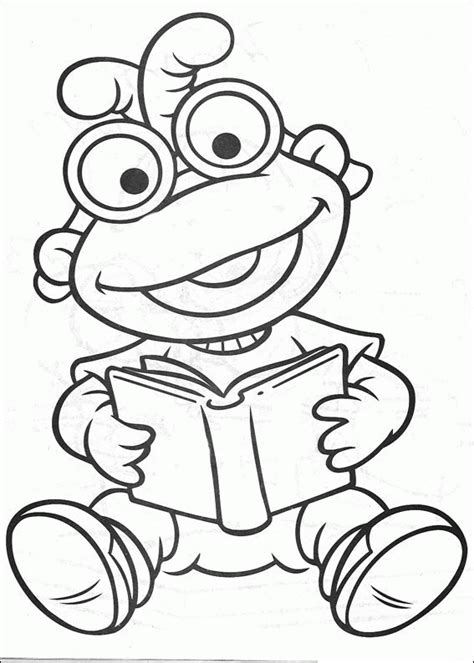 Muppet Babies Coloring Pages Coloringpagesabc Com Muppets Coloring Pages