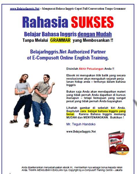 tips trik rahasia cepat pintar bahasa inggris tips trik