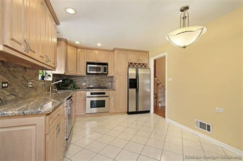 Kitchen Color Ideas With Light Wood Cabinets Pictures Of Kitchens Traditional Light Wood Kitchen Cabinets Page 6