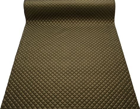 padded upholstery fabric quilted leather faux leather diamond padded cushion