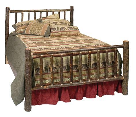 rustic cottage furniture cottage hickory traditional log bed rustic furniture