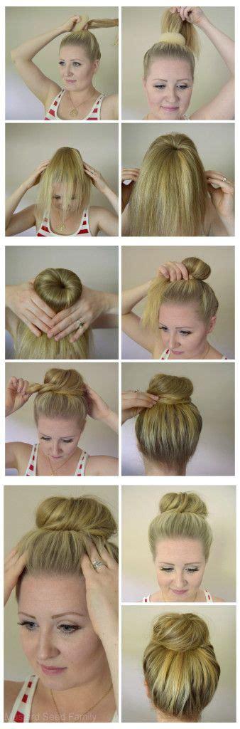 hair donut hair tutorial hair donut donut