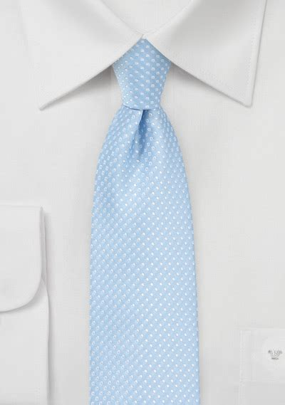 baby blue tie with silver pin dots ties shop polka dot