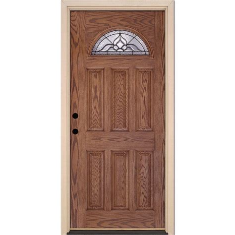 Feather River Doors 37 5 In X 81 625 In Lakewood Patina Feather River Exterior Doors