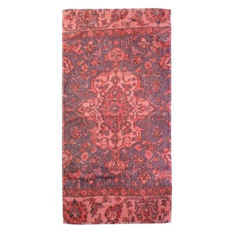 Coral Bathroom Rug Versaille Rug Coral Cotton Bath Towels By Fresco Gracious Style