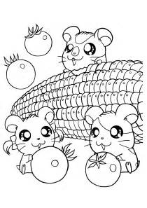 kawaii coloring book free coloring pages of kawaii food
