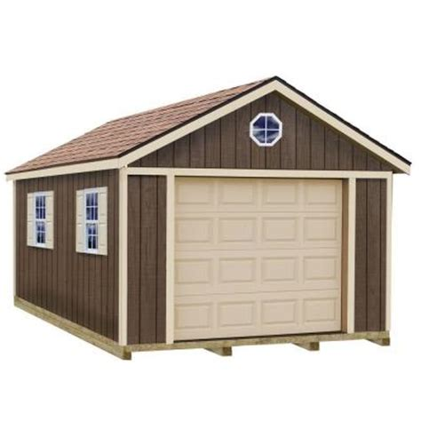 Home Hardware Garage Packages Cost by Best Barns 12 Ft X 24 Ft Wood Garage Kit With