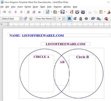 word diagram maker 10 best free venn diagram maker for windows