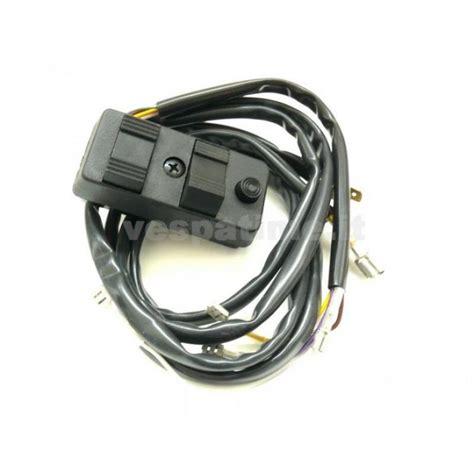 light switch installation piaggio original vespatime