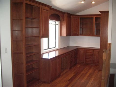 home office cabinets in irvine with built in desk
